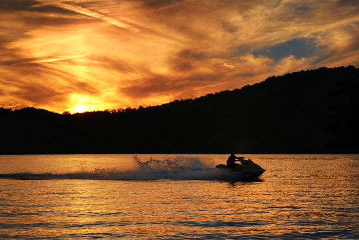 Table Rock Lake Branson Mo Pictures And Photos Sunset